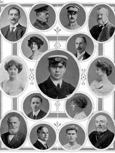 On Board the Titanic: Notable Passengers--Photographic Print