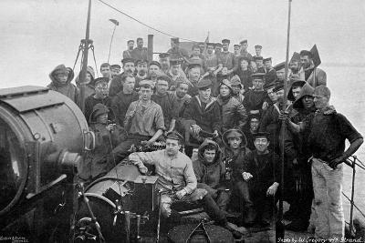 On Board the Torpedo-Boat Destroyer HMS 'Sturgeon, 1896-W Gregory-Giclee Print