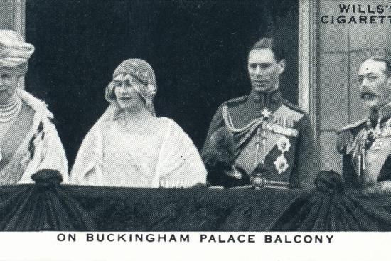 'On Buckingham Palace Balcony', 1923 (1937)-Unknown-Photographic Print