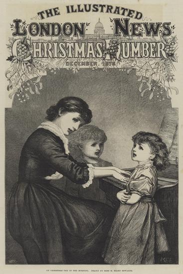 On Christmas Day in the Morning--Giclee Print