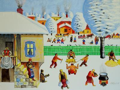 On Christmas Tree, 2006-Radi Nedelchev-Giclee Print