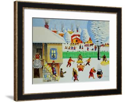 On Christmas Tree, 2006-Radi Nedelchev-Framed Giclee Print