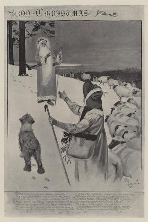 On Christmas-Cecil Aldin-Giclee Print