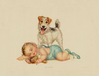 On Guard-Charlotte Becker-Art Print