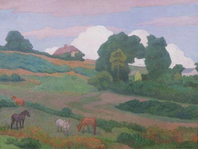 On Luppitt Common, No. 1, 1924-Robert Polhill Bevan-Giclee Print