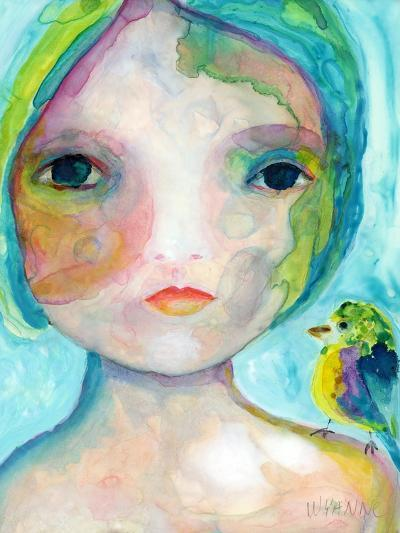 On My Shoulder-Wyanne-Giclee Print