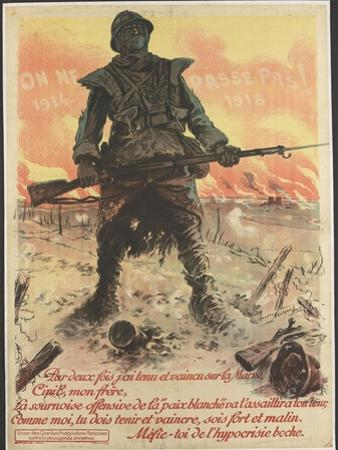 On ne passe pas! 1914/1918