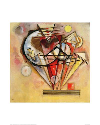 On Points, 1928-Wassily Kandinsky-Giclee Print
