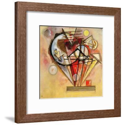 On Points, 1928-Wassily Kandinsky-Framed Giclee Print