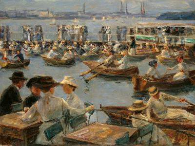 On the Alster in Hamburg, 1910-Max Liebermann-Giclee Print