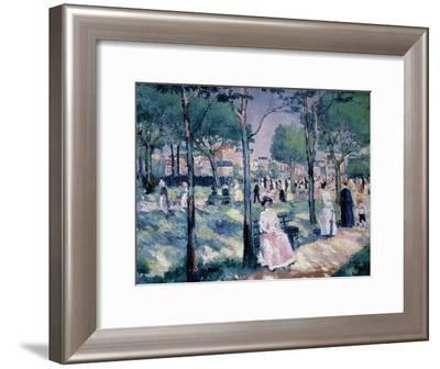 On the Avenue. 1903-Kasimir Malewitsch-Framed Giclee Print