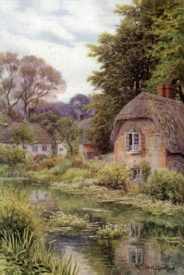 On the Avon, at Lake, Near Salisbury-Alfred Robert Quinton-Giclee Print