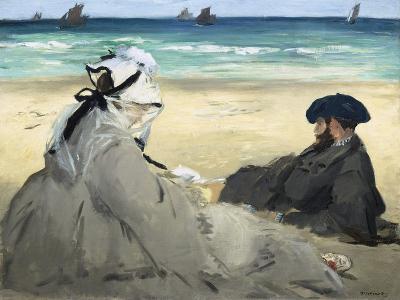 On the Beach, 1873-Edouard Manet-Giclee Print