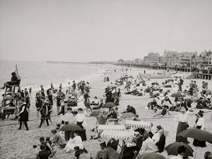 On the Beach at Ross Pavilion, Ocean Grove, N.J.