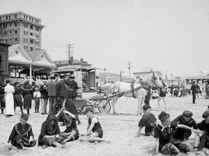 On the Beach, Atlantic City, N.J.