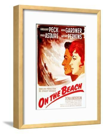On the Beach, from Left: Gregory Peck, Ava Gardner, on French Poster Art, 1959