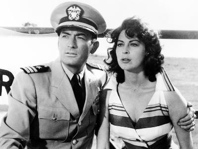On the Beach, Gregory Peck, Ava Gardner, 1959--Photo