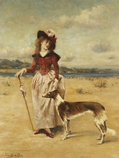 On the Beach-Bos George-Giclee Print