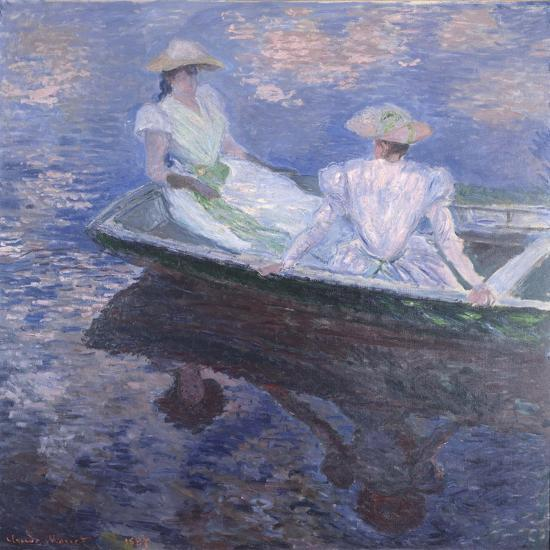 On the Boat, 1887-Claude Monet-Giclee Print
