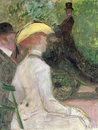 On the Bois de Boulogne, 1901-Henri de Toulouse-Lautrec-Giclee Print
