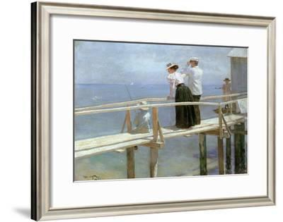 On the Bridge, 1898-Peter Alexandrovich Nilus-Framed Giclee Print