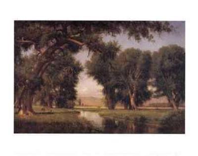 On the Cache la Poudre River, Colorado-Thomas Worthington Whittredge-Art Print