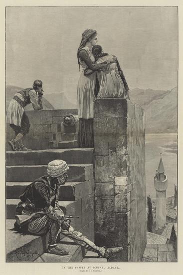On the Castle at Scutari, Albania-Richard Caton Woodville II-Giclee Print