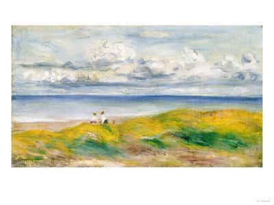 On the Cliffs, 1880-Pierre-Auguste Renoir-Giclee Print