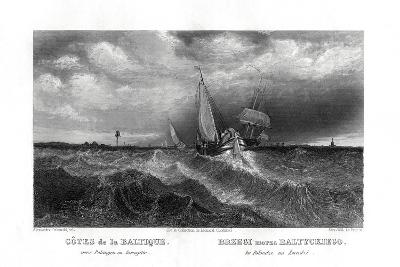 On the Coasts of the Baltic, 19th Century-Alex Will-Giclee Print