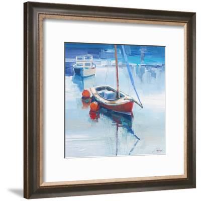 On the Creek-Craig Trewin Penny-Framed Art Print