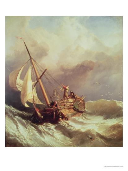 On the Dogger Bank, 1846-William Clarkson Stanfield-Giclee Print