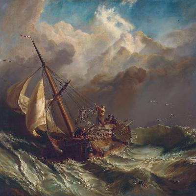 On the Dogger Bank-William Clarkson Stanfield-Giclee Print