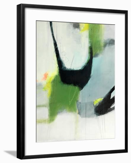 On the Edge-Sidsel Brix-Framed Art Print