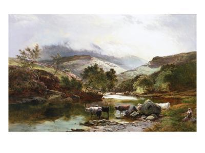 On the Falloch, Scotland-Sidney Richard Percy-Giclee Print