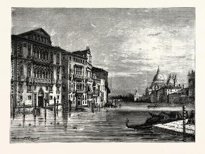 On the Grand Canal Venice--Giclee Print