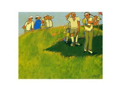 On the Green-Claudette Castonguay-Art Print