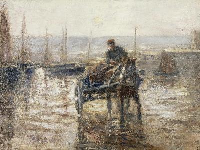On the Harbour-Harry Fidler-Giclee Print