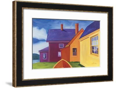 On the Hill-Catherine Breer-Framed Giclee Print