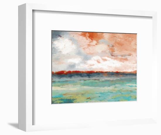 On the Horizon-Linda Woods-Framed Art Print