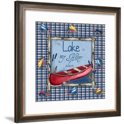 On the Lake I-Andi Metz-Framed Art Print