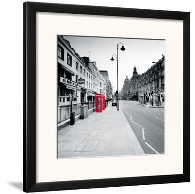 On the Line III-Joseph Eta-Framed Giclee Print