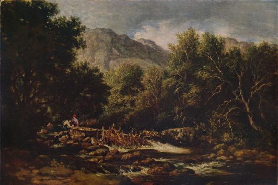 On the Lledr, c1844-David Cox the elder-Giclee Print