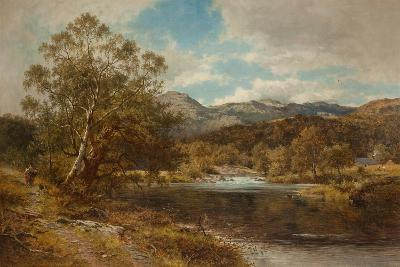On the Llygwy, North Wales-Benjamin Williams Leader-Giclee Print