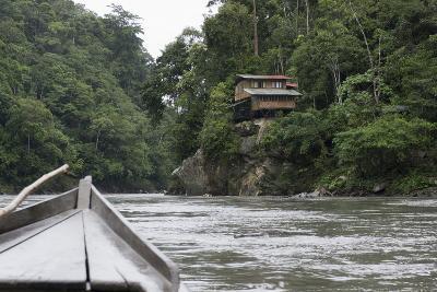 On the Madre De Dios River, Peru, South America-Peter Groenendijk-Photographic Print