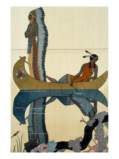 On the Missouri, 1922-Georges Barbier-Giclee Print