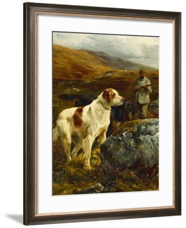 On the Moors-John Sargent Noble-Framed Giclee Print