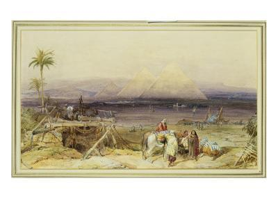 On the Nile, Egypt, 1846-William Clarkson Stanfield-Giclee Print