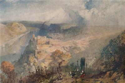 On the Rhine, 1852-James Baker Pyne-Giclee Print