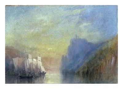 On the Rhine, c.1830-J^ M^ W^ Turner-Giclee Print