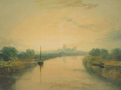 On the River Ouse-J^ M^ W^ Turner-Giclee Print